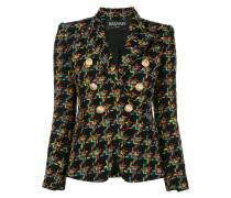 Zweireihige Tweed-Jacke