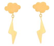 22kt 'Thunderstorm' Goldohrringe