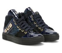 High-Top-Sneakers aus Lackleder - kids
