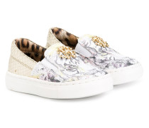 - Slip-On-Sneakers mit Tiger-Print - kids