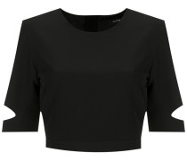 cut out details cropped top