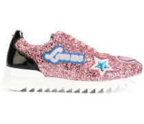 Sneakers mit Glitzer