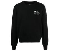 Sweatshirt mit Logo-Verzierung
