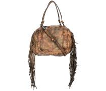 Handtasche mit Fransen - women - Leder