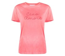 "T-Shirt mit ""Ciao Amore""-Stickerei"