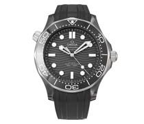 2021 ungetragene Seamaster Diver 300m 43,5mm