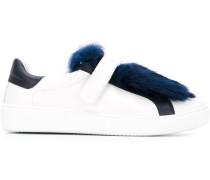 Sneakers mit Pelzbesatz - women