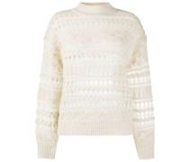 'Pernille' Pullover in Lochstrick