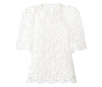 guipare lace overlay blouse - women