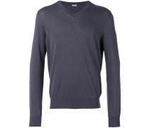 Sweatshirt mit V-Ausschnitt - men - Baumwolle