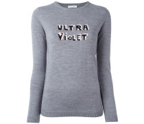 'Ultra Violet' Wollpullover