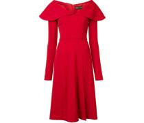 Kleid mit Capekragen