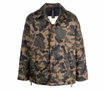 Teeming Jacke mit Camouflage-Print
