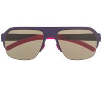 Pilotenbrille mit Kontrastbügeln