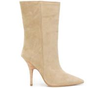 Stiletto-Stiefel mit mittelhohem Schaft