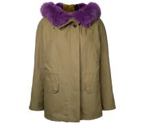 - Mantel mit Oversized-Kragen - women