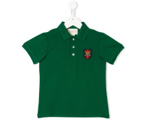 Poloshirt mit Tiger-Patch