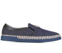 Slip-On-Sneakers im Jeans-Look