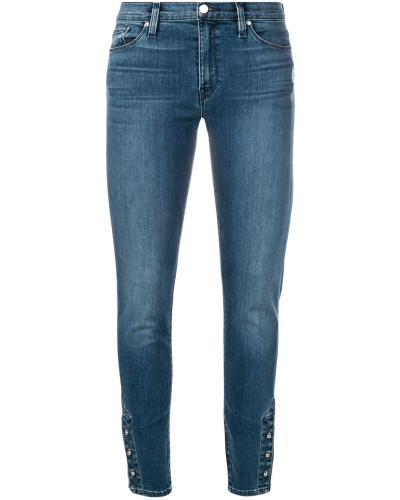 Skinny-Jeans mit Knöpfen