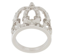 crown shaped finger ring