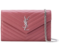 'Monogram' chain wallet - women - Kalbsleder