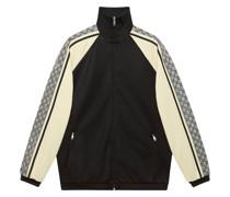 Oversized-Jacke aus Jersey