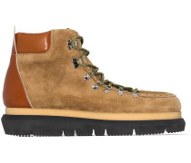 Hiking-Boots aus Wildleder