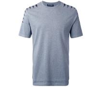 T-Shirt mit Blitze-Print