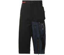 Hybrid-Shorts mit tiefem Schritt
