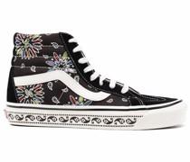 High-Top-Sneakers mit Paisley-Print