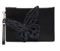 'Flossy' Clutch mit Schmetterling-