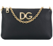 logo chain clutch