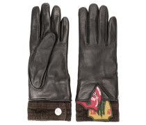 Handschuhe mit Patches