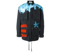 Jacke mit Farbeffekt