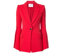 bell sleeve fitted jacket