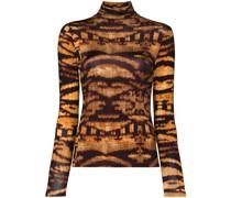 Aurelia tiger print jersey top