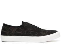 Canvas-Sneakers mit grafischem Print