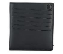 Portemonnaie mit Druckknopf