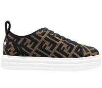 Rise Flatform-Sneakers mit Logo-Print