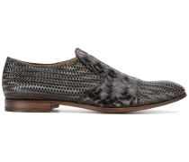 Loafer mit Flechtmuster