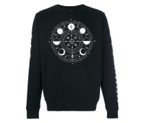 'Menel' Sweatshirt mit rundem Ausschnitt