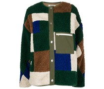 Quilt patchwork fleece