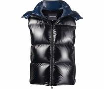 padded patent vest