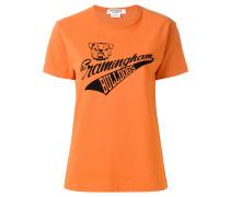 T-Shirt mit Bulldoge-Print