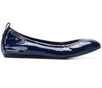 elasticated ballerina shoes