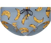 Badehose mit Bananen-Print