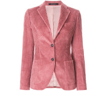 fitted corduroy blazer