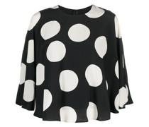 Bluse mit Polka Dots
