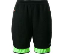 KOLOR X ADIDAS mesh layered shorts