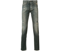 Schmale Jeans mit Distressed-Optik - men